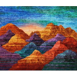 Mountain Vista Panel by Northcott Studio
