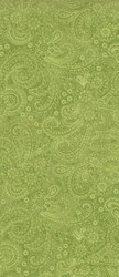 "End of Bolt - 42"" -Radiance Green Paisley - by Deborah Edwards Northcott Studio"