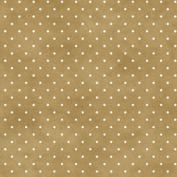 Beautiful Basics - Goldish Tan Dots - by Maywood Studios