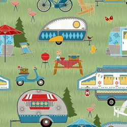 Lets Go Glamping Caravans  for Wilmington-Green