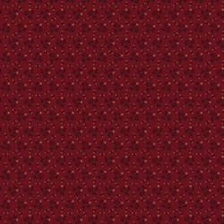 Country Bloom - Barn Red - Shirting by Marcus Fabrics