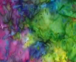 Bali Hand-dyed Batik - Rainbow- by Hoffman California Fabrics