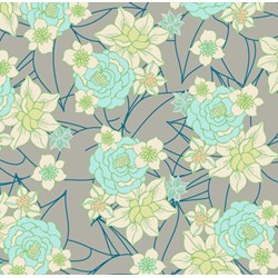 """11"""" x 60"""" Remnant - Revive - Gray Blossom Clusters"""