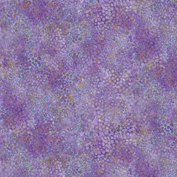 Shimmer Pansy - Purple - by Deborah Edwards for Artisan Spirit of Northcott Studio