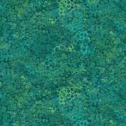 Shimmer Peacock - Teal - by Deborah Edwards for Artisan Spirit of Northcott Studio