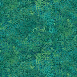 "End of Bolt  - 59"" - Shimmer Peacock - Teal - by Deborah Edwards for Artisan Spirit of Northcott Studio"