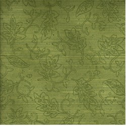 Tried and True - Green Tonal Leaf - by Benartex