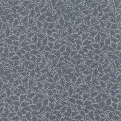 Best of Morris - Blue Leaf Print - by Barbara Brackman for MODA