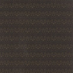 Best of Morris - Dark Brown Tonal Print - by Barbara Brackman for MODA