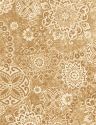 "22"" Remnant - - Tapestry- 6c904-Almond by Wing & a Prayer Timeless Treasures"