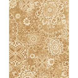 Tapestry- C6904-Almond by Wing & a Prayer Timeless Treasures