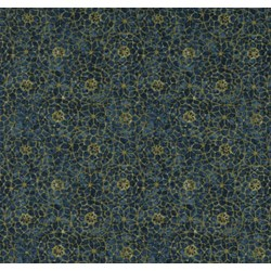 Tapestry- C6907-Sapphire  by Wing & a Prayer Timeless Treasures