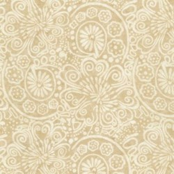 "12"" Remnant -  Tapestry- C6909-Cream  by Wing & a Prayer Timeless Treasures"