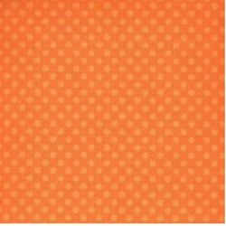 "End of Bolt - 60"" - Camelot - Orange Tonal Dots"