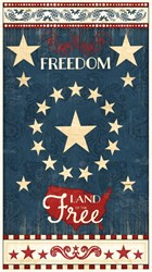 "24"" Panel - Colors of Freedom by Jennifer Pugh for Wilmington- Panel"