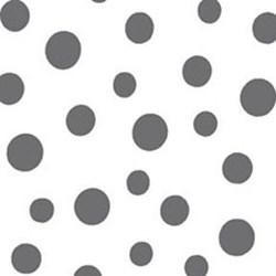 "32"" Remnant - Daisy Mae - Kisses Graphite - by E. Vive for Benartex"