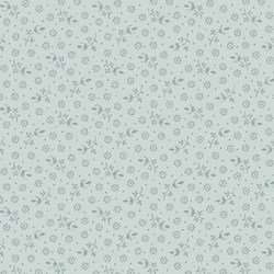 English Diary Blue Tonal Floral by Renee Nanneman for Andover Fabrics