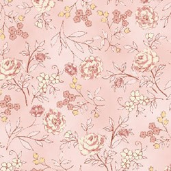 Flowers for Emma Florals - Small Quilting Fabric ~ by Ann Sutton for Henry Glass & Co Fabrics