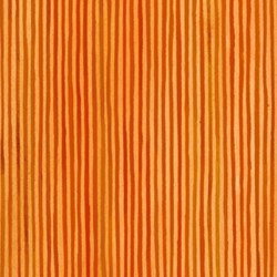 "35"" Remnant - Four Seasons - Autumn - Orange  Stripe- by Julie Paschkis for In The Beginning Fabrics"