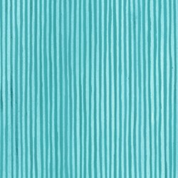 Four Seasons - Spring - Blue Stripe- by Julie Paschkis for In The Beginning Fabrics
