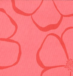 Vintage Find!  Olive Rose - Pink Florals Quilting Fabric