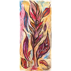 Dreaming Tree-Flame Panel by Frond Design Studios