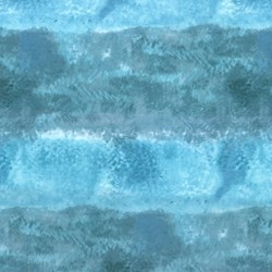 "23"" Remnant Piece - Sand in My Shoes - Ocean Scapes by McKenna Ryan for Hoffman California Fabrics"