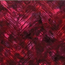 Bali Chop- Chevron Brush- Crimson