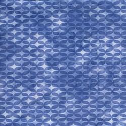 Island Batik Screen Print - Ocean Glimmer-Blue