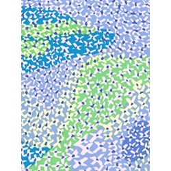 "End of Bolt - 44"" - Brandon Mably for Kaffe Fassett - Migration in Blue"