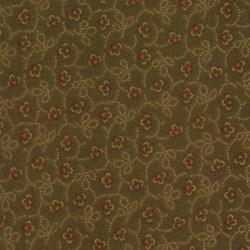 Kansas Troubles Favorites - Brown Mini Floral - by Kansas Troubles for Moda