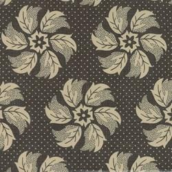 La Fete de Noel - Whirl Floral Fern - by French General for MODA