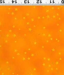 Laurel Burch Laurel Burch Basics - Orange-Metallic Stars