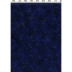 Laurel Burch Laurel Burch Basics - Navy-Metallic Stars