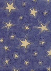"""10"""" Remnant - Liberty Garden by moda Mixed Blue Stars"""