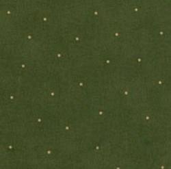 "End of Bolt - 52"" - Simpatico - Dark Green with Gold Mini Dots - Maywood Studios"