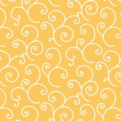 Kimberbell Basics - Yellow Swirl- by Maywood Studios