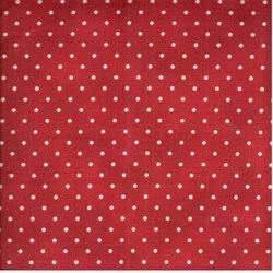 "14"" Remnant - Maywood Christmas Classics - Red Dots - by Maywood Studios"