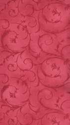 Poppies - Red Elegant Swirl - by Maywood Studios