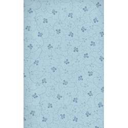 Poppies - Floral Blue Print - by Maywood Studios