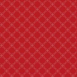 Kimberbell Basics- Red Lattice- by Maywood Studios