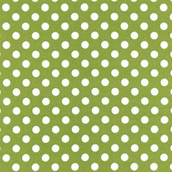 Kimberbell Basics-Green with White Dots - by Maywood Studios