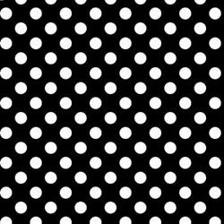 Kimberbell Basics- Black with White Dots - by Maywood Studios