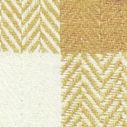 Organics Herringbone Check - Tan