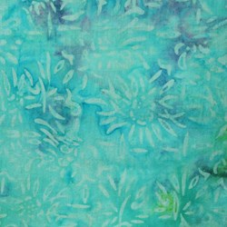 Aegean Diva Collection Aruba Blue Floral by Batiks by Mirah Zriya