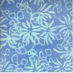 Summer Breeze - Blue - by Batiks by Mirah Zriya