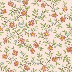 Miss Emma's Garden Florals - Small Quilting Fabric ~ by Ann Sutton for Henry Glass & Co Fabrics