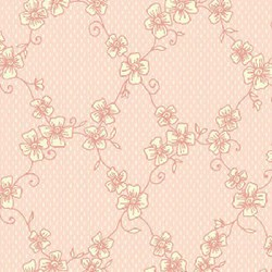 Miss Emma's Garden Lattice Quilting Fabric ~ by Ann Sutton for Henry Glass & Co Fabrics