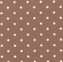 "18"" Remnant - Mistletoe Lane - Wood Smoke Dots - by Bunny Hill Designs"