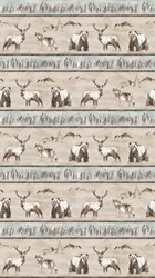 """End of Bolt - 49"""" - Misty Mountain - Flannel by Deborah Edwards for Northcott"""